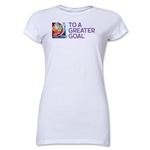 FIFA Women's World Cup Junior Women's T-Shirt (White)