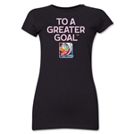 FIFA Women's World Cup Junior Women's T-Shirt (Black)