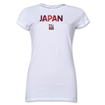 Japan FIFA Women's World Cup Canada 2015(TM) Junior Women's T-Shirt (White)
