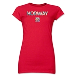 Norway FIFA Women's World Cup Canada 2015(TM) Junior Women's T-Shirt (Red)
