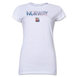 Norway FIFA Women's World Cup Canada 2015(TM) Junior Women's T-Shirt (White)