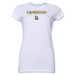 Cameroon FIFA Women's World Cup Canada 2015(TM) Junior Women's T-Shirt (White)