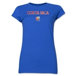 Costa Rica FIFA Women's World Cup Canada 2015(TM) Junior Women's T-Shirt (Royal)