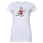 FIFA Women's World Cup Canada 2015(TM) Junior Women's Mascot 1 T-Shirt (White)
