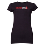 Grassroot Soccer Junior Women's T-Shirt (Black)