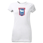 Ipswich Crest Junior Women's T-Shirt (White)