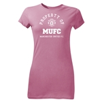 Manchester United Property of MUFC Junior Women's T-Shirt (Pink)