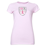 Pink FC Junior Women's T-Shirt (Pink)