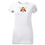 Old White Junior Women's Logo T-Shirt (White)