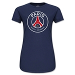 Paris Saint-Germain Junior Women's T-Shirt (Navy)