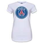 Paris Saint-Germain Junior Women's T-Shirt (White)