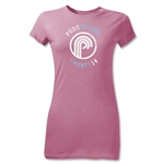 Puro Futebol Twenty 14 Junior Women's T-Shirt (Pink)