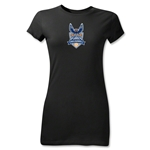 Carolina Railhawks Junior Women's T-Shirt (Black)