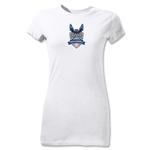 Carolina Railhawks Junior Women's T-Shirt (White)