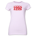 FC Santa Claus Established 1992 Jr. Women's T-Shirt (Pink)