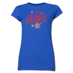 FC Santa Claus Pride of Finland Jr. Women's T-Shirt (Royal)