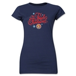 FC Santa Claus Pride of Finland Jr. Women's T-Shirt (Navy)