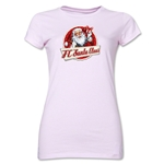 FC Santa Claus Animated Santa Jr. Women's T-Shirt (Pink)