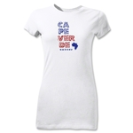 Cape Verde Junior Women's Country T-Shirt (White)