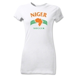Niger Junior Women's Country T-Shirt (White)