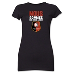 Stade Rennais FC We Are Junior Women's T-Shirt (Black)