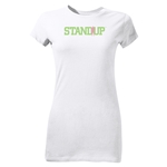 StandUp Junior Women's T-Shirt (White)