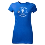 Chelsea 2012 Champions of Europe Junior Women's T-Shirt (Royal)
