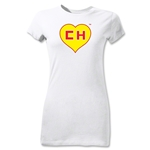 Chapulin Junior Women's T-Shirt (White)