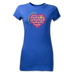 Chapulin Su Escuedo Junior Women's T-Shirt (Royal)