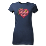 Chapulin Su Escuedo Junior Girls T-Shirt (Navy)