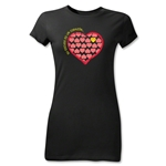 Chapulin Su Escuedo Junior Women's T-Shirt (Black)