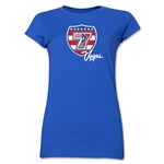 USA Sevens Vegas Rugby Junior Women's T-Shirt (Royal)