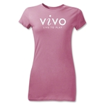 Vivo Junior Women's T-Shirt (Pink)
