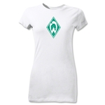 Werder Bremen Junior Women's T-Shirt (White)