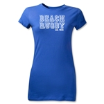 Beach Rugby Est. 1924 Junior Women's T-Shirt (Royal)