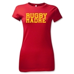 Rugby Madre Junior Women's T-Shirt (Red)