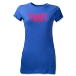 Stars Rugby Mum Junior Women's T-Shirt (Blue)