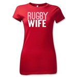 Rugby Wife Junior Women's T-Shirt (Red)