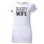 Rugby Wife Junior Women's T-Shirt (White)