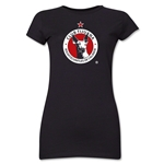 Xolos de Tijuana Junior Women's T-Shirt (Black)