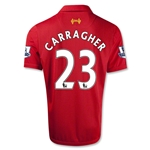 Liverpool 12/13 CARRAGHER Home Soccer Jersey