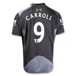 Liverpool 12/13 CARROLL Away Soccer Jersey
