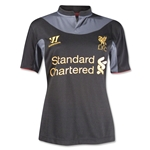 Liverpool 12/13 Women's Away Soccer Jersey