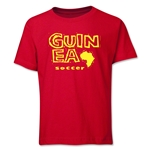 Guinea Soccer Youth T-Shirt (Red)