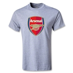 Arsenal Crest Youth T-Shirt (Gray)