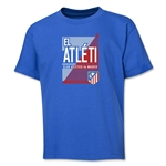 Atletico Madrid El Atleti Youth T-Shirt (Royal)