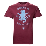 Aston Villa Property of AVFC Youth T-Shirt (Maroon)
