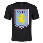 Aston Villa Youth T-Shirt (Black)