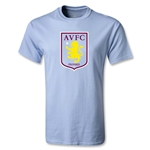 Aston Villa Youth T-Shirt (Sky Blue)