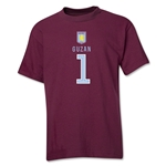 Aston Villa Guzan Youth T-Shirt (Maroon)